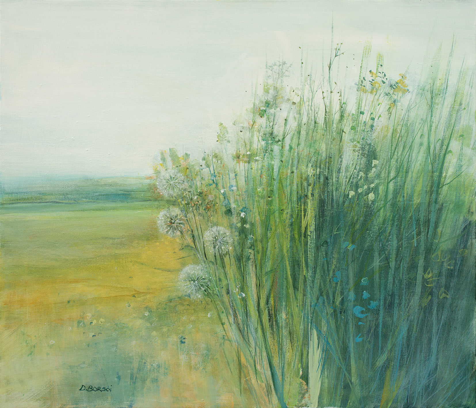 Daniela Borsoi - Soffioni tra l'erba