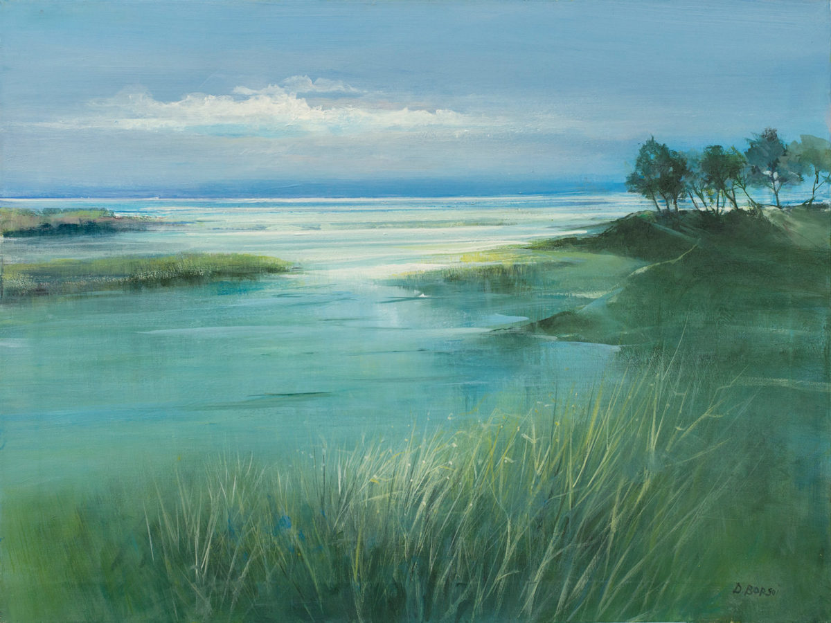 Daniela Borsoi - Il mare entra in laguna